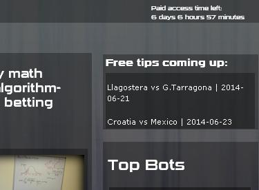 New Feature at our site - FREE TIPS